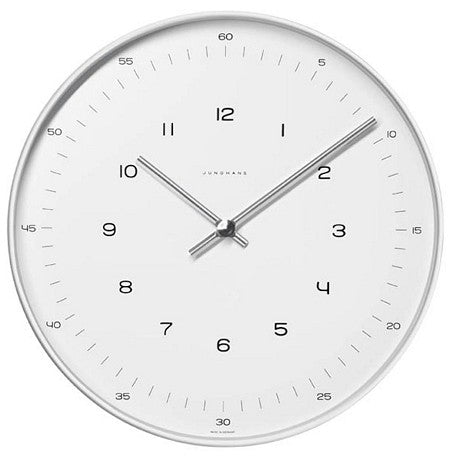 "Junghans Max Bill Quartz 8"" Wall Clock 367/6048.00"