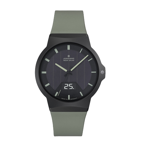 Junghans Force Mega Solar 018/1002.00 RADIO CONTROLLED WATCH