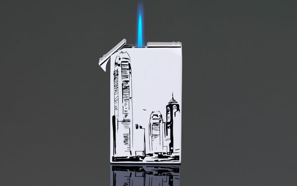 SIGLO Twin-Flame Lighter HK Skyline