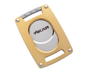 Xikar Ultra Slim Cutter Gold