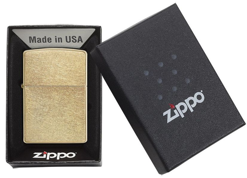 Zippo Pure Gold Dust Lighter 207G