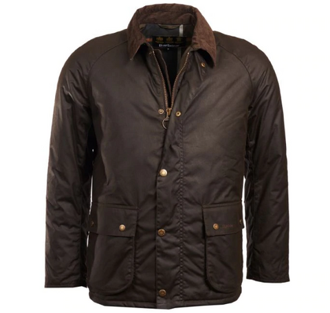 Barbour Strathyre Waxed Cotton Jacket (Olive)