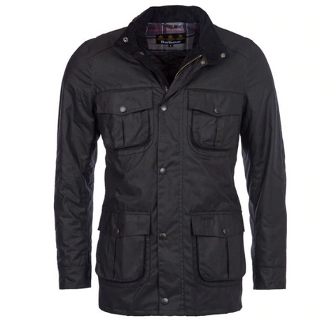 Barbour Corbridge Waxed Jacket (Black)