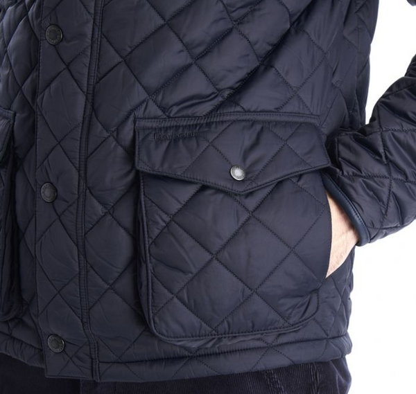 Barbour Evanton Quilted Jacket (Navy)