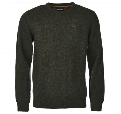 Barbour Tisbury Crew Neck Sweater (Green)
