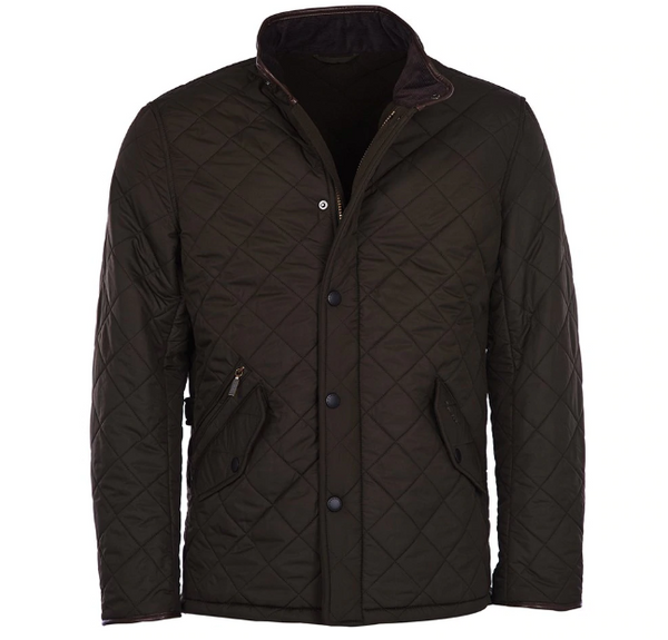 Barbour Powell Quilted Jacket (Olive)