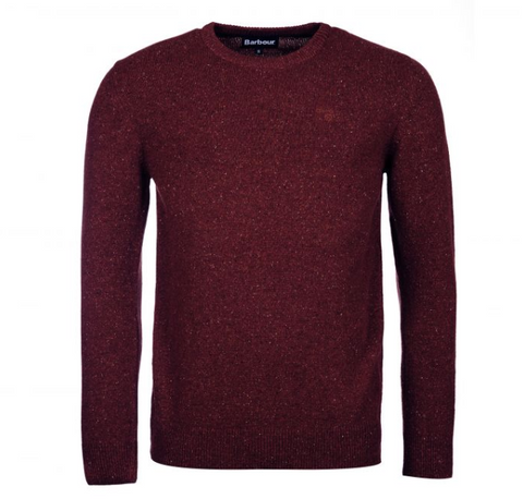 Barbour Tisbury Crew Neck Sweater (Red)