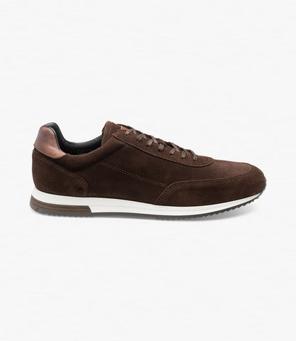 Loake Bannister - Brown Suede