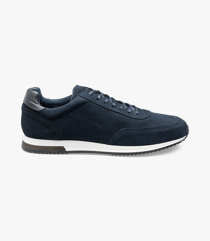 Loake Bannister - Navy Suede
