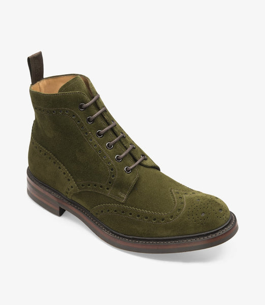 Loake Bedale Suede (Green)