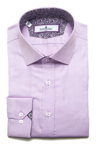 Herbie Frogg - Slim Fit Shirt - Pink