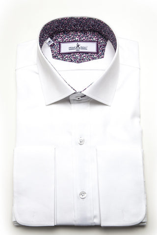 Herbie Frogg - Slim Fit Shirt - White