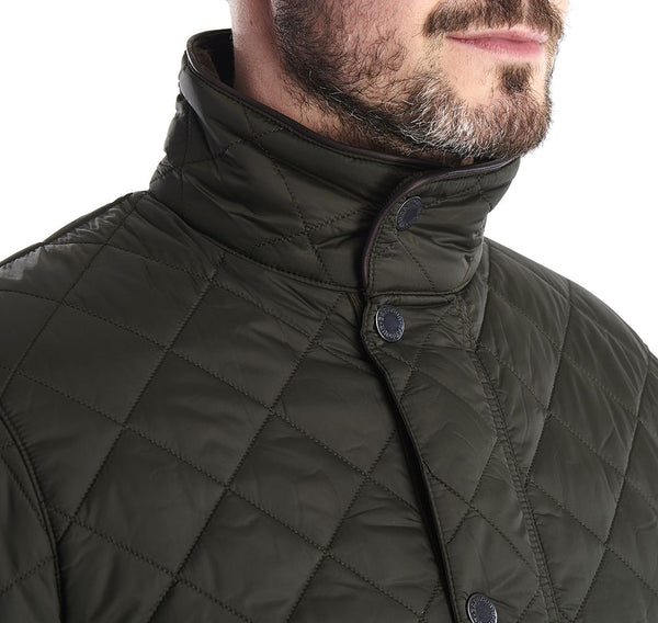 Barbour Evanton Quilted Jacket (Green)