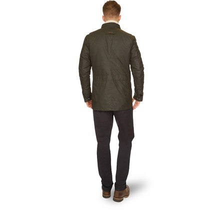 Barbour Corbridge Waxed Jacket (Olive)