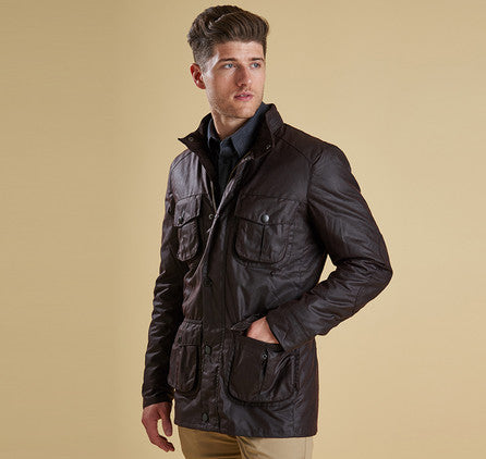 Barbour Corbridge Waxed Jacket (Rustic)