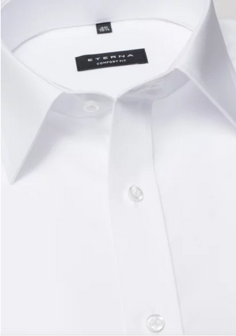 Eterna Comfort Fit Shirt White
