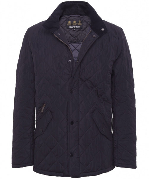 Barbour Chelsea Sportsquilt Jacket (Navy)