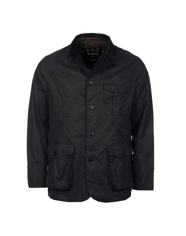 Barbour Dalkeith Wax Jacket (Navy)