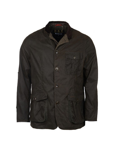 Barbour Dalkeith Wax Jacket (Olive)