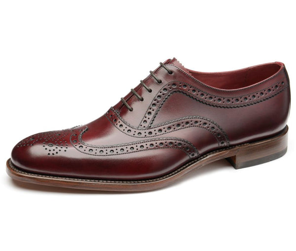 Loake Fearnley Burgundy