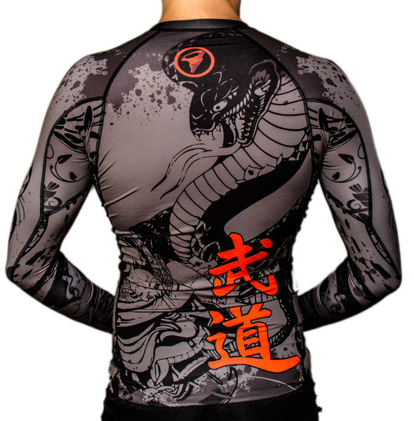 Furacao Ronin V2 Long-Sleeve Rash Guard