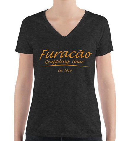 Furacao Ladies Fashion Deep V-neck Tee