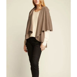 Everyday Shawl Vest - Taupe