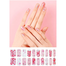 Load image into Gallery viewer, Gel Nail Stickers - Cherry Blossom