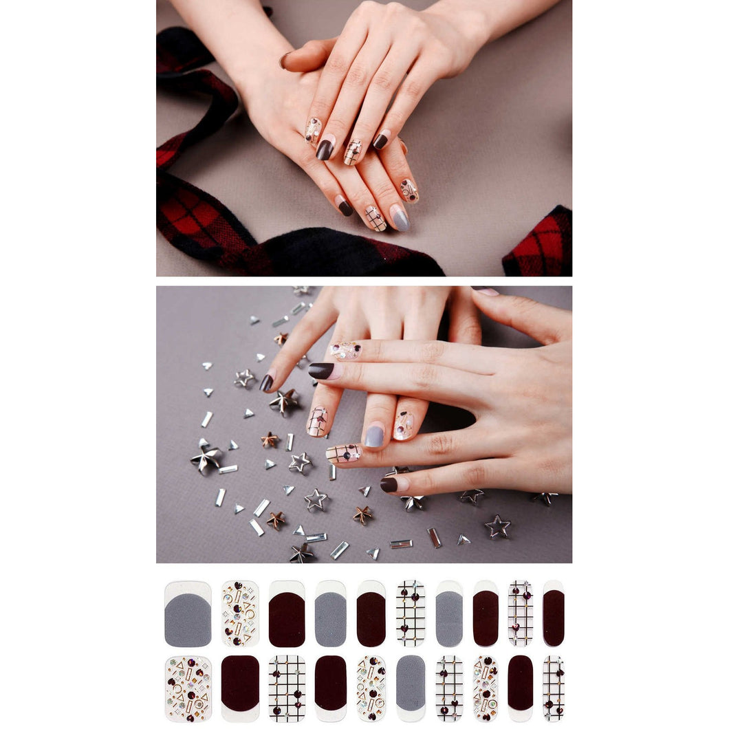 Gel Nail Stickers - Love Charms