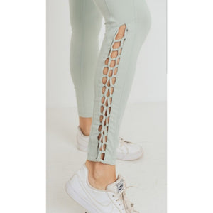 """Jodie"" Braided Leggings"
