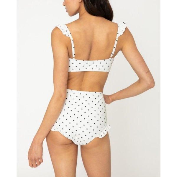 """Luna"" Two-Piece Polka Dot Swimming Suit"
