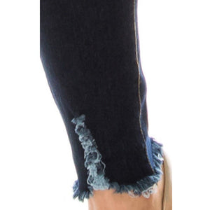 """Alice"" Stretchy Jeggings (Dark Wash)"