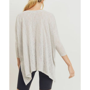 """Easy Breezy"" Boxy Knit Top"