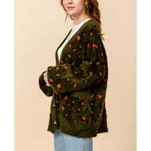 "Load image into Gallery viewer, ""Nancy"" Soft & Fuzzy Leopard Cardy"
