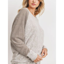 "Load image into Gallery viewer, ""Sammie"" Raglan Brushed Knit Top"