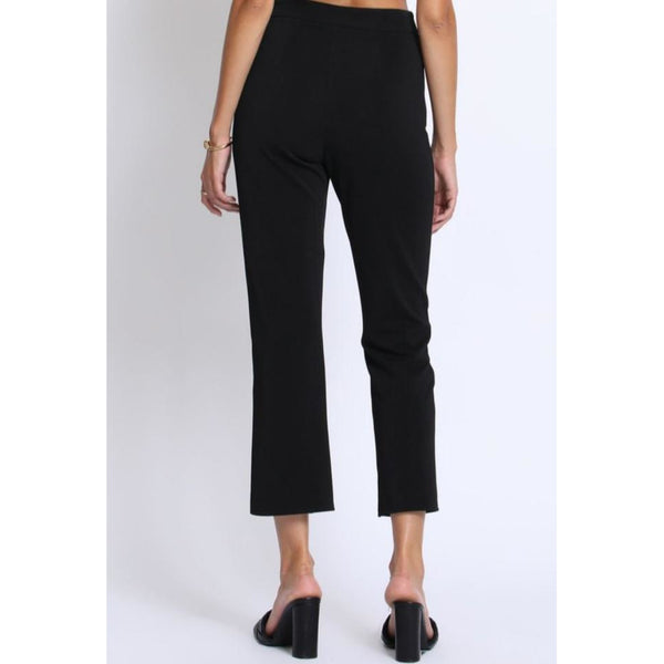 """Connie"" Slit Front Stretchy Slacks"