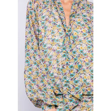 "Load image into Gallery viewer, ""Romantic Moments"" Printed Blouson Dress"