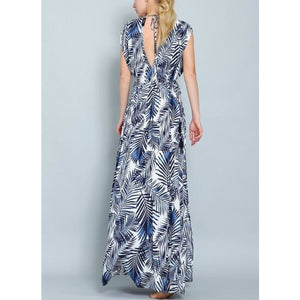 """Mykonos"" Grecian Maxi Dress"