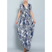 "Load image into Gallery viewer, ""Mykonos"" Grecian Maxi Dress"