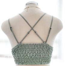 "Load image into Gallery viewer, ""Gisela"" Laced Bralette - Seafoam"