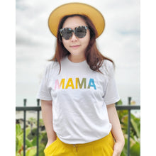"Load image into Gallery viewer, Unicorn ""Mama"" Soft Cotton T-Shirt"