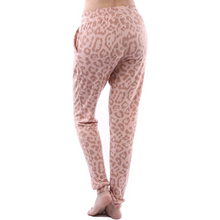 "Load image into Gallery viewer, ""Forever Yours"" Pink Leopard Sweatpants"