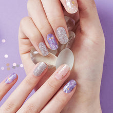 Load image into Gallery viewer, Gel Nail Stickers - Purple Galaxy