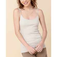 Load image into Gallery viewer, Daily Ribbed Basic Tank - Beige