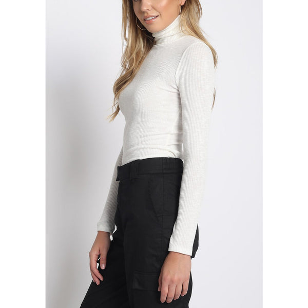 """Tired Girl"" Turtleneck Top"