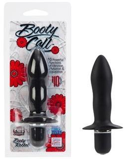Booty Call Booty Rocket Butt Plug - Black