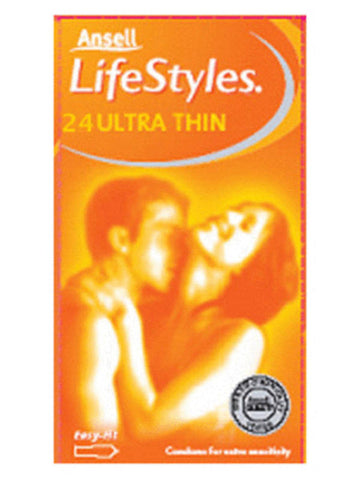LifeStyles Healthcare 24s Ultra Thin Condoms