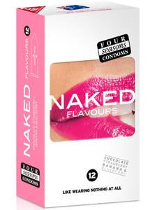 Four Seasons 12s Naked Flavours Condoms