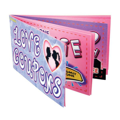 Love Coupons Novelty Gift