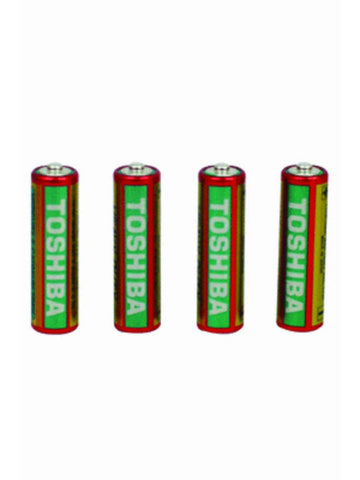 Toshiba AA Heavy Duty Shrink pack Batteries (4 pack)